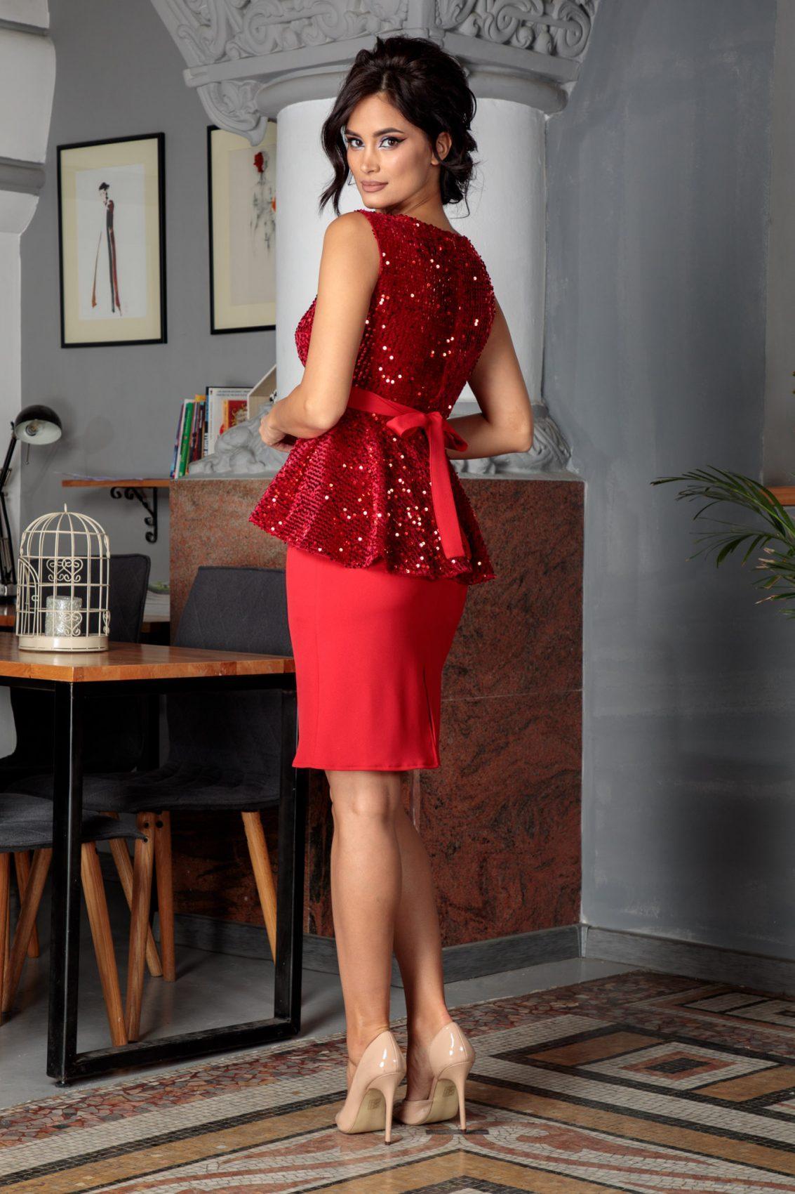 Malya Κόκκινο Φόρεμα 5649