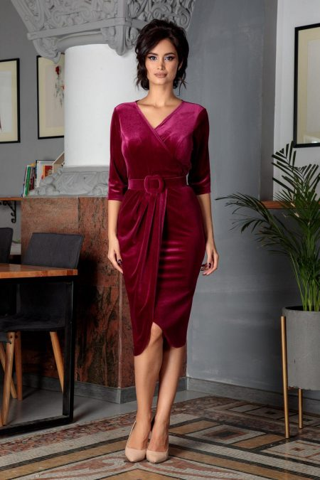 Raissa Magenta Dress