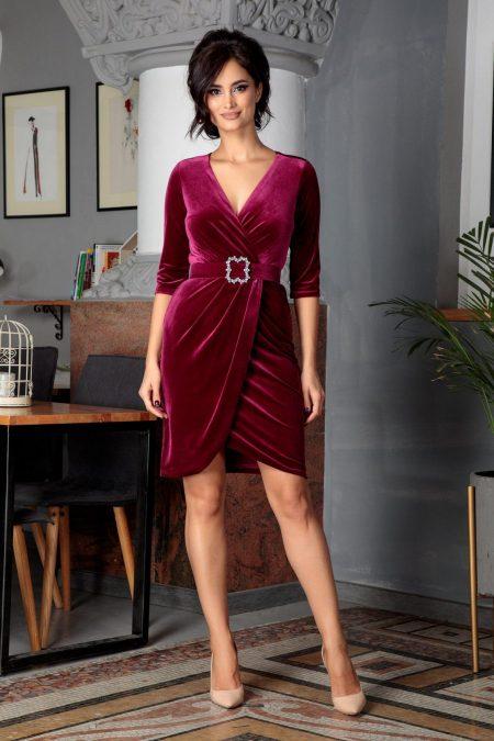 Thea Magenta Dress