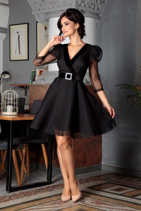 Inesa Black Dress