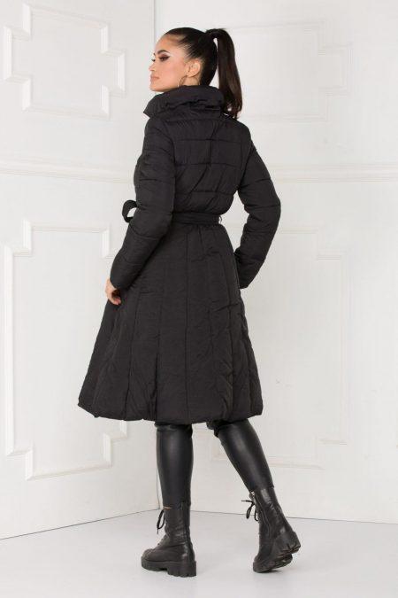 Leny Μαύρο Μπουφάν 5504