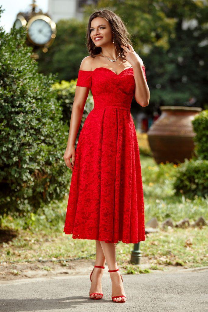 Το midi φόρεμα, η τάση της εποχής. 3