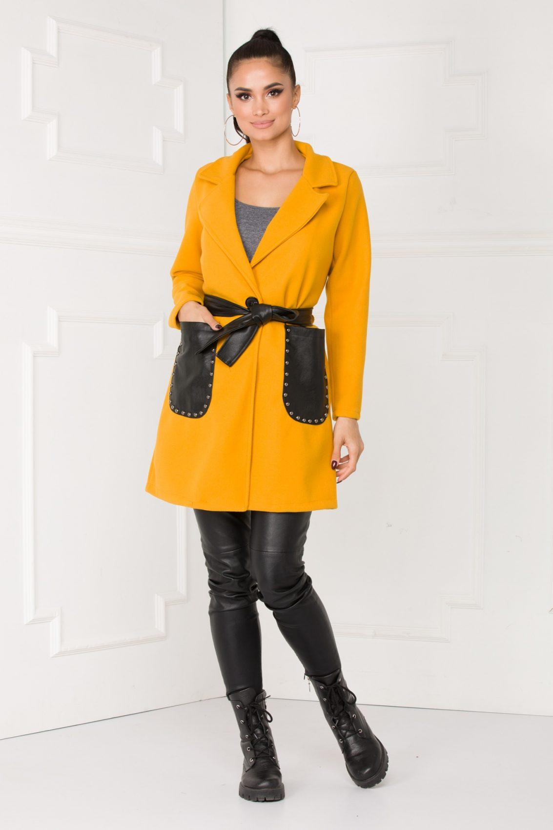 Dream Mustard Coat