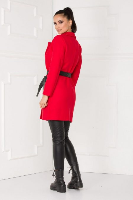 Dream Κόκκινο Παλτό 5514