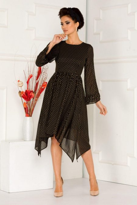 Moze Wendy Black Dress