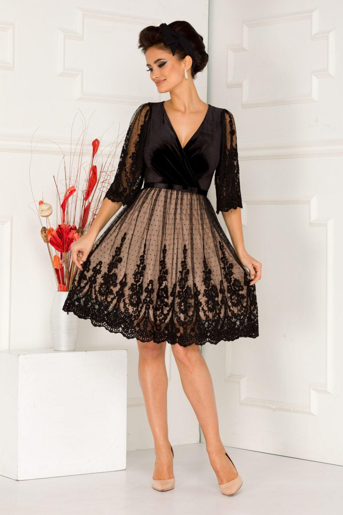 Debra Black Dress