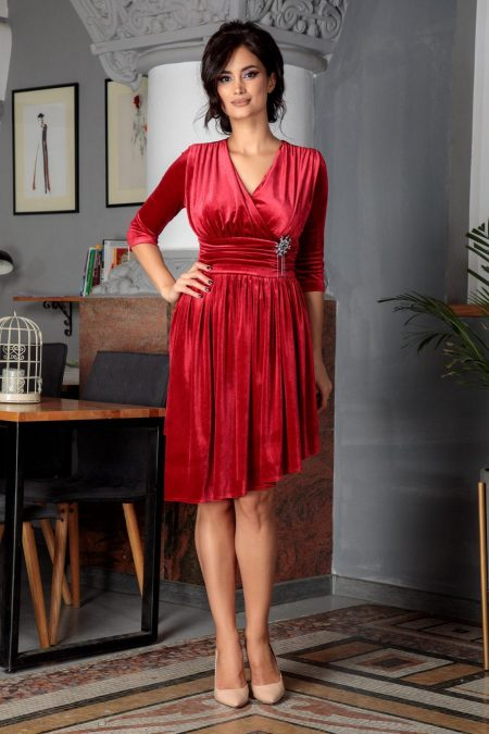 Iustine Red Dress
