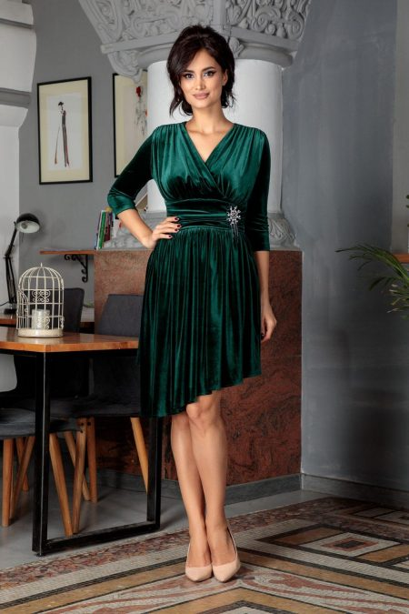 Iustine Green Dress