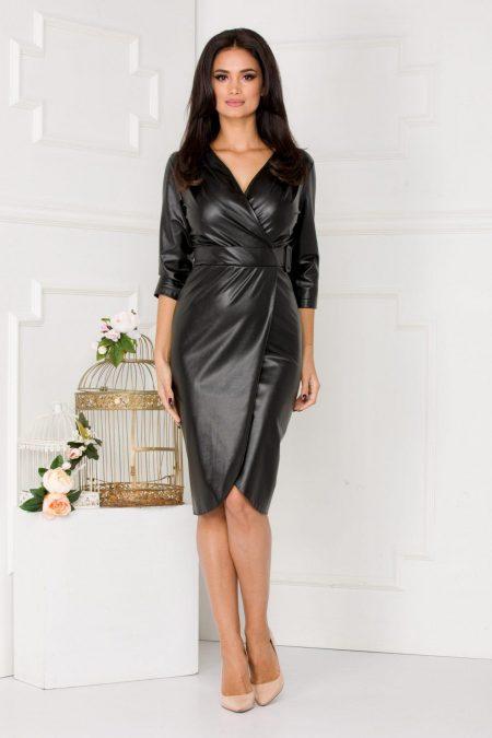Helga Black Dress