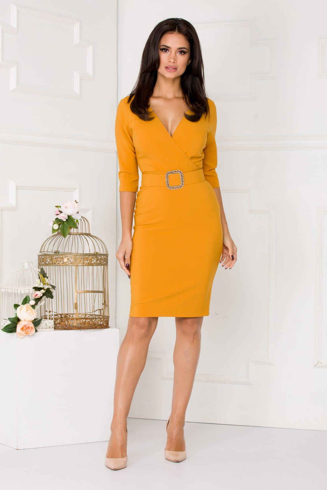 Malvina Yellow Dress