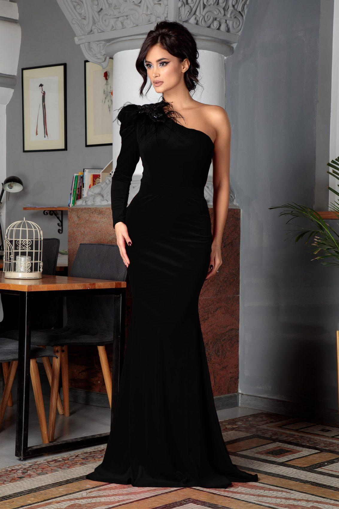 Impulse Black Dress