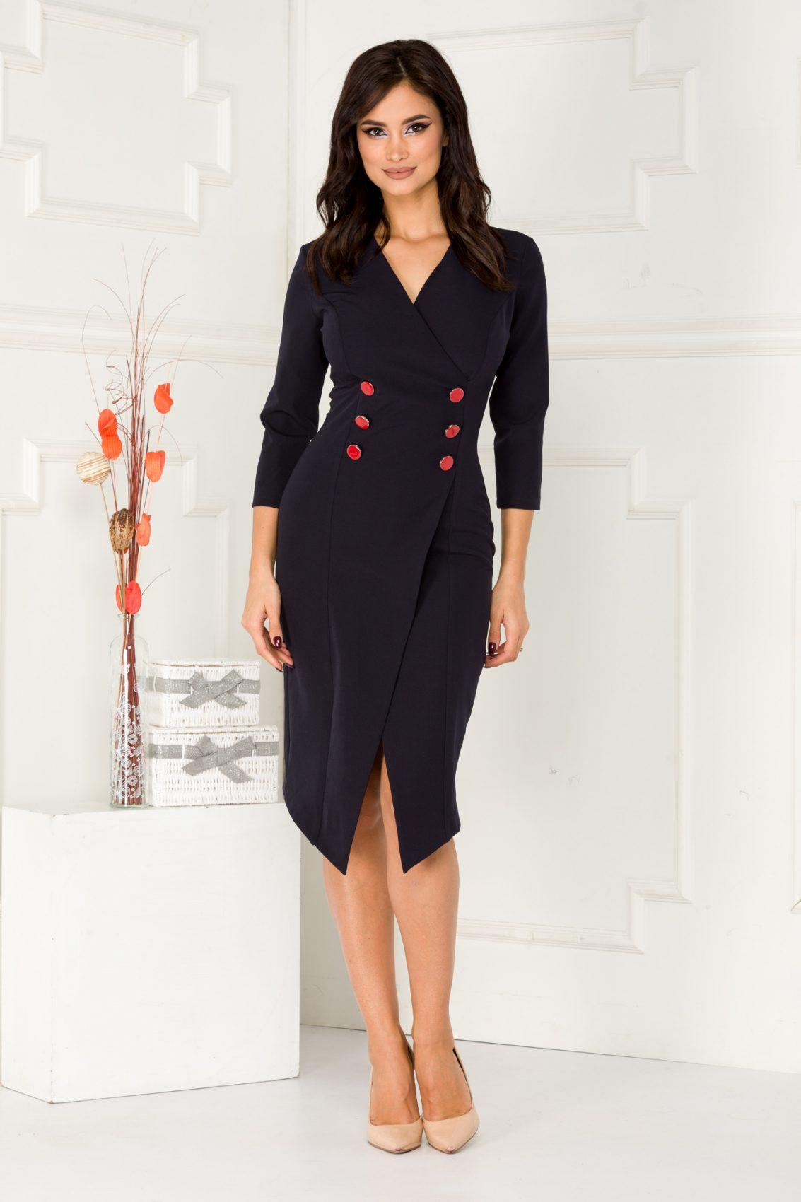 Sharron Navy Dress