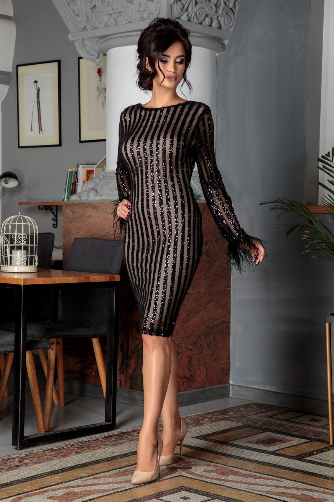 Ranya Black Dress