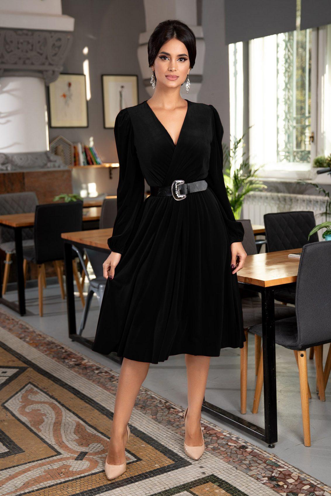 Judy Black Dress
