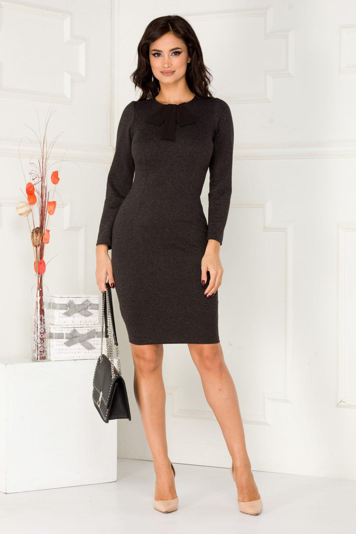 Moze Loriana Black Dress