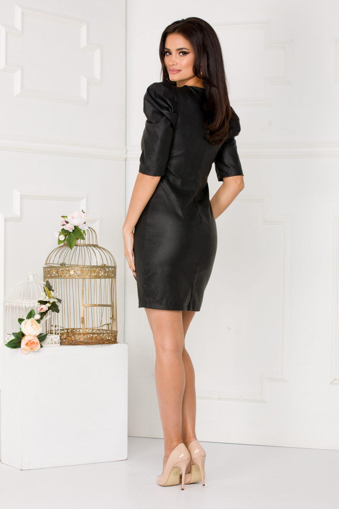 Alla Mini Μαύρο Φόρεμα 5516