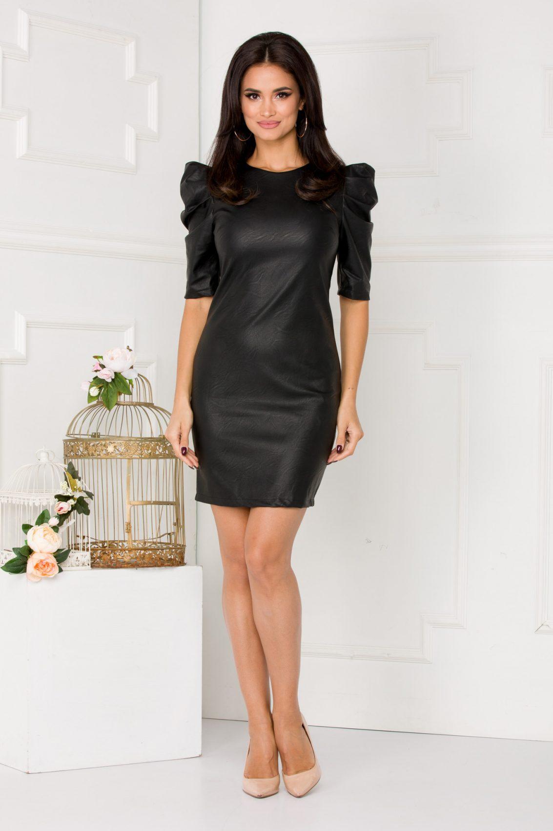 Alla Black Dress