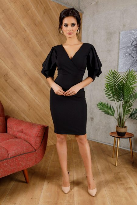 Liliane Black Dress