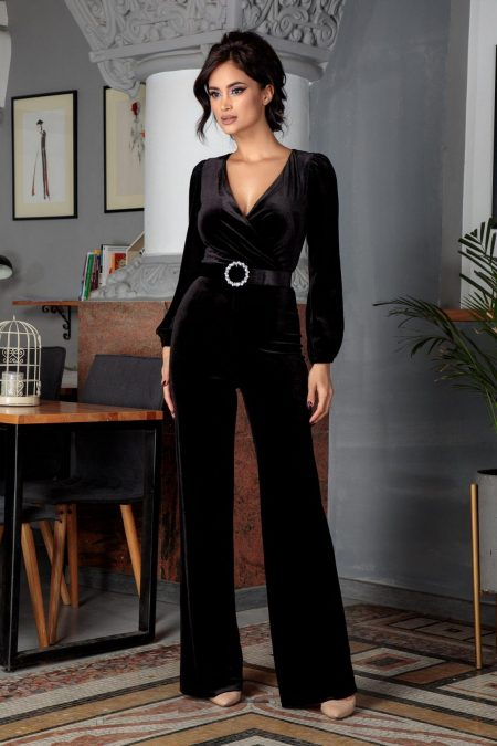Brigitte Black Jumpsuit
