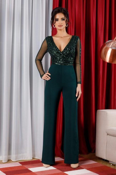 Nowa Green Jumpsuit