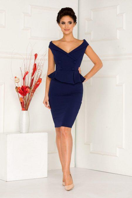Elly Navy Blue Dress