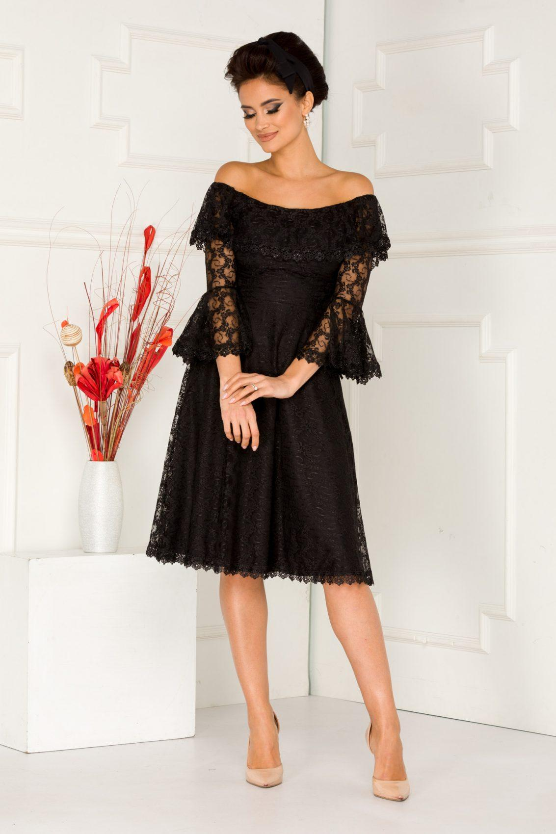 Medana Black Dress