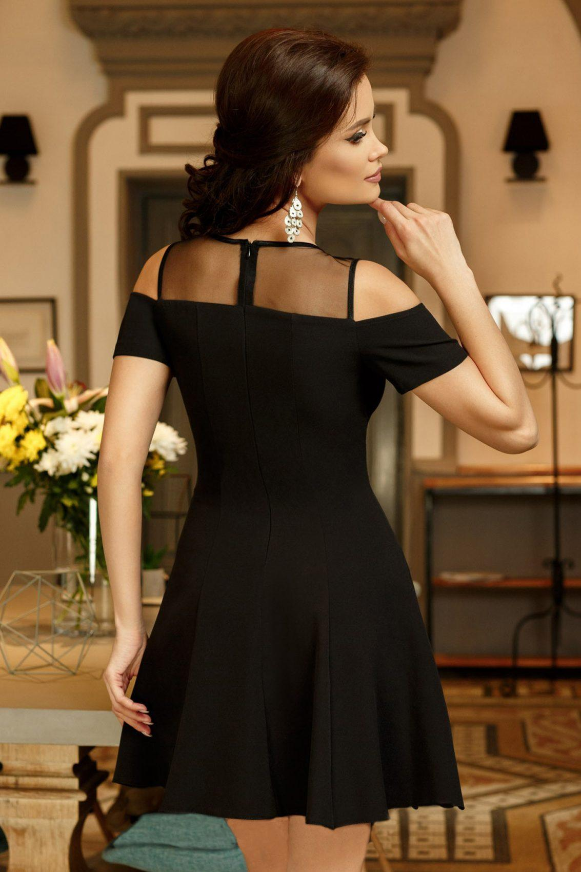 Tina Μαύρο Φόρεμα 5276