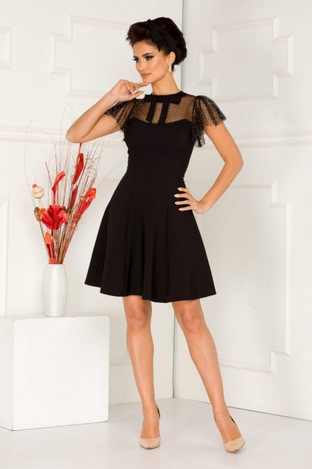 Bianka Black Dress