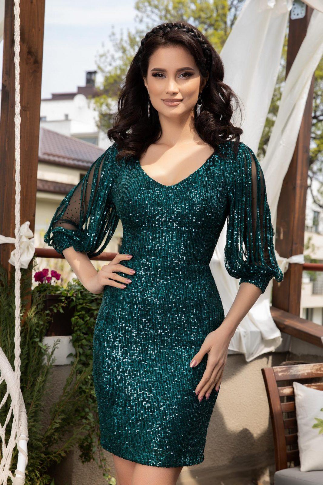 Katriss Green Dress
