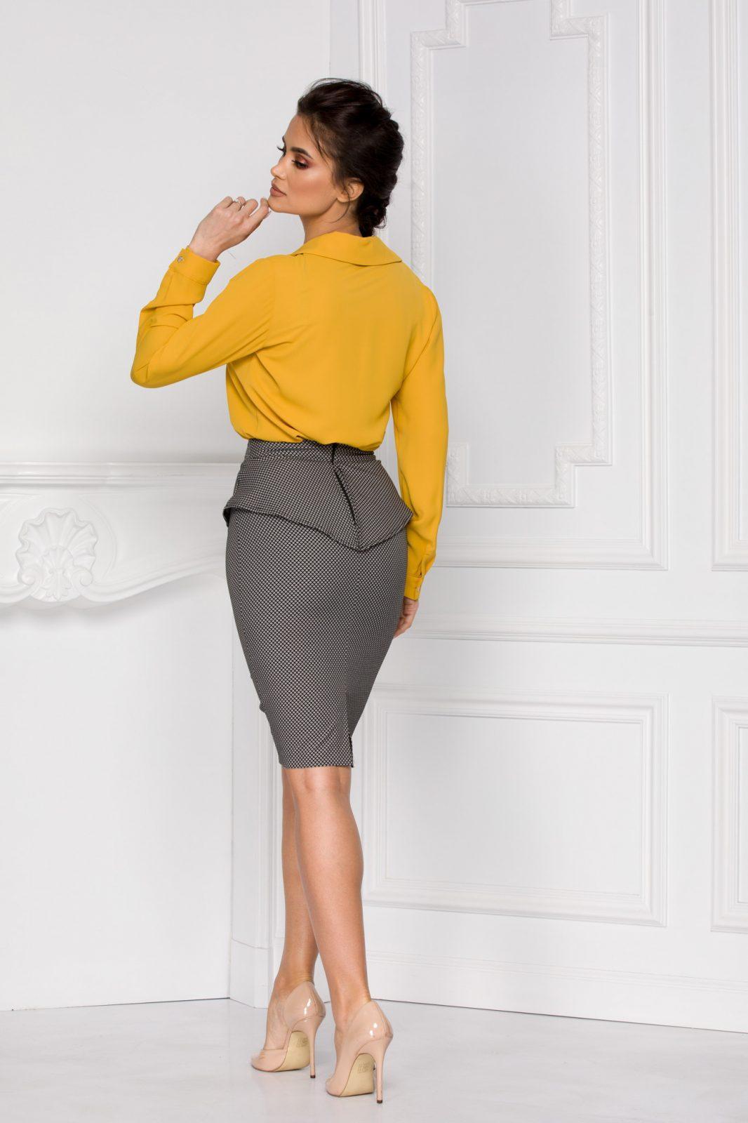 Sya Κίτρινη Μπλούζα 6002