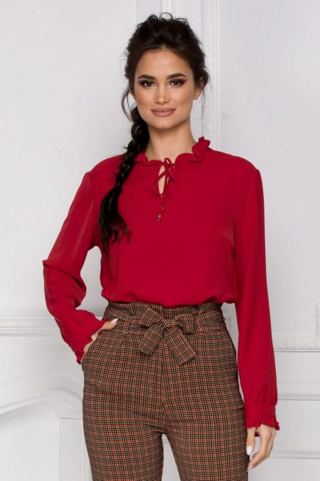 Zabera Red Shirt