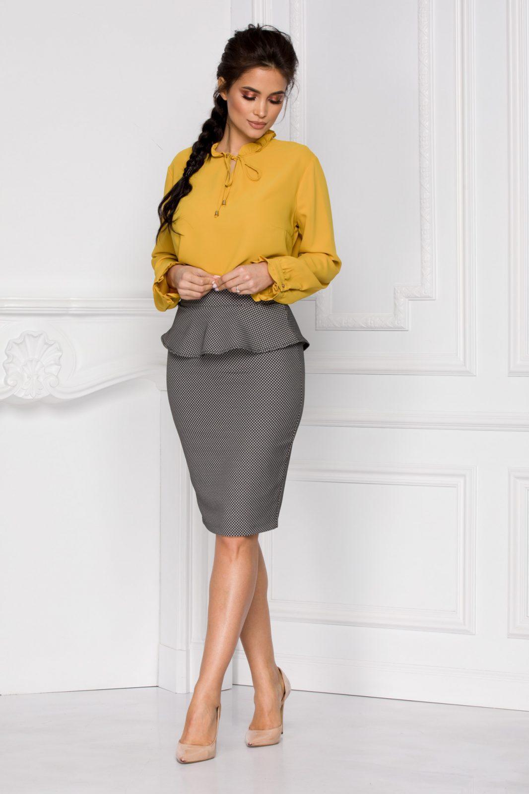 Zabera Κίτρινη Μπλούζα 5946
