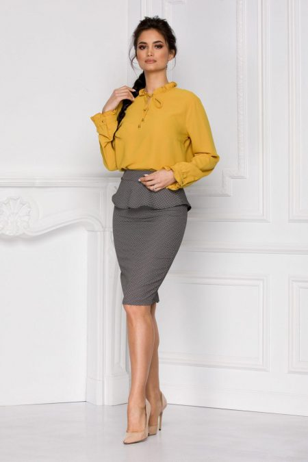 Zabera Yellow Shirt