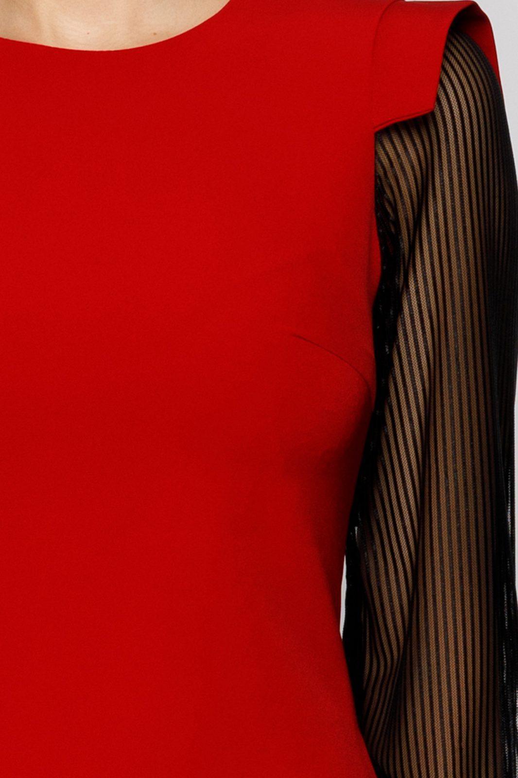 Moze Patty Κόκκινο Φόρεμα 7028