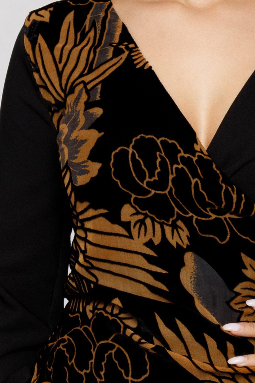 Μαύρο Φόρεμα Beautiful 7035