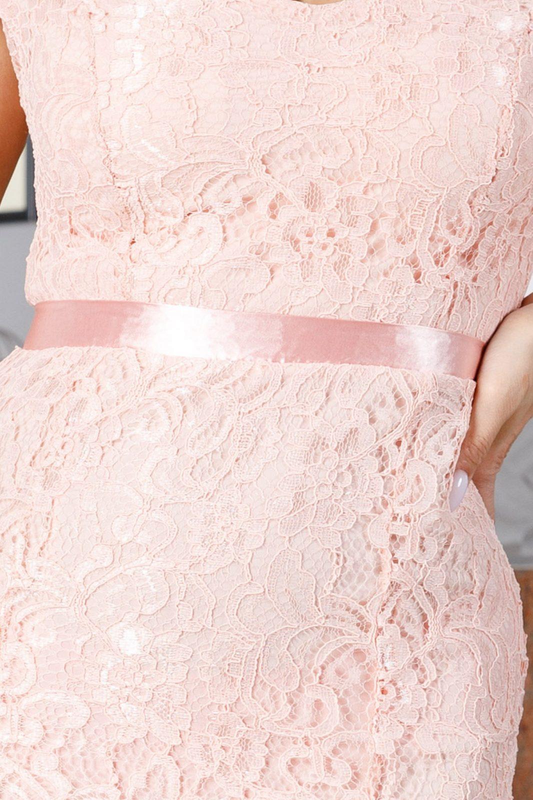 Clara Ροζ Φόρεμα 2276
