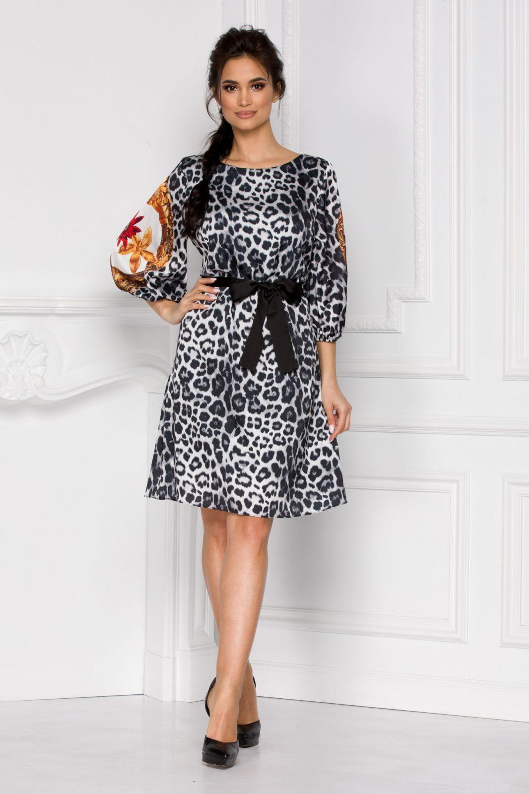 Zolla Animal Print Dress