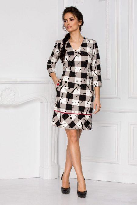 Serena Bicolore Dress