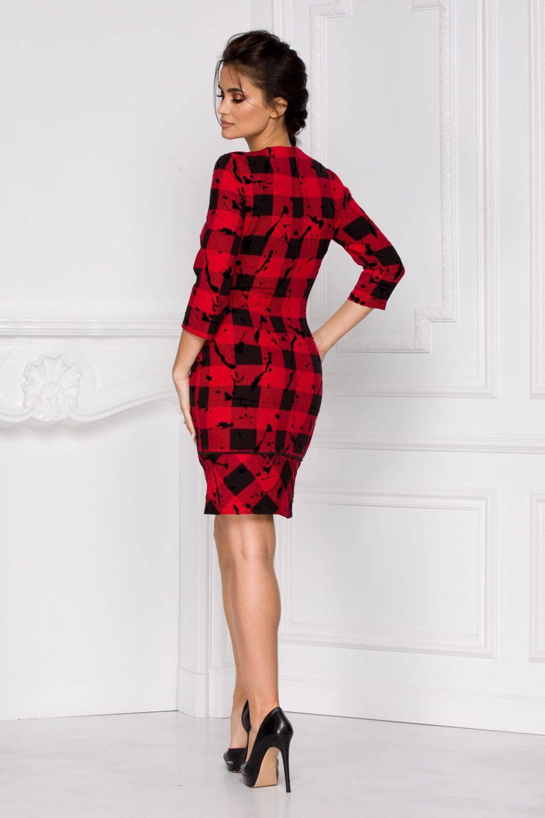 Serena Κόκκινο Φόρεμα 6022
