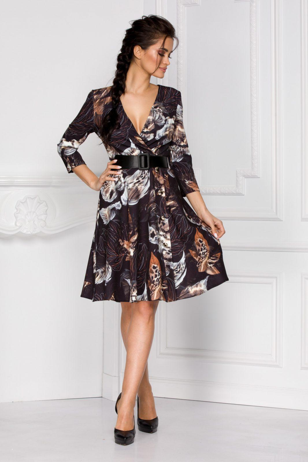 Rovena Floral Φόρεμα 6035
