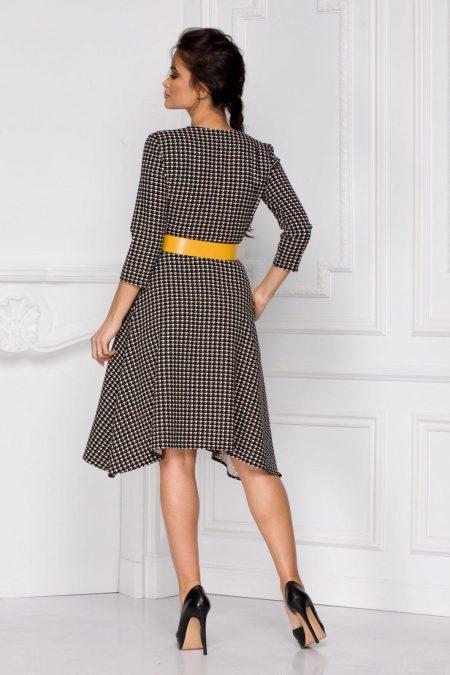 Indira Μαύρο Φόρεμα 6040