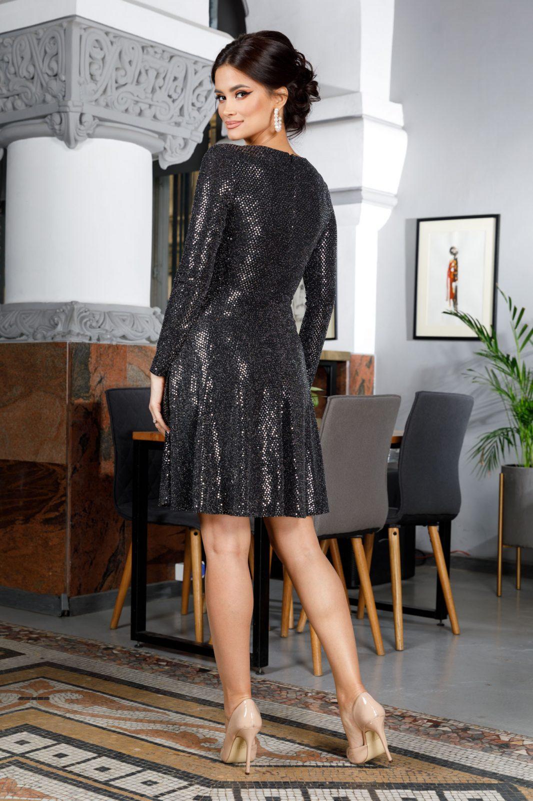 Adelynne Ασήμι Φόρεμα 5972