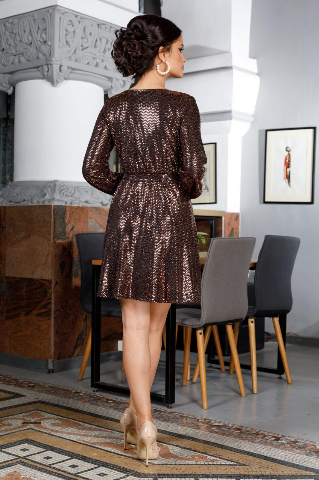 Bethany Χρυσό Φόρεμα 5987