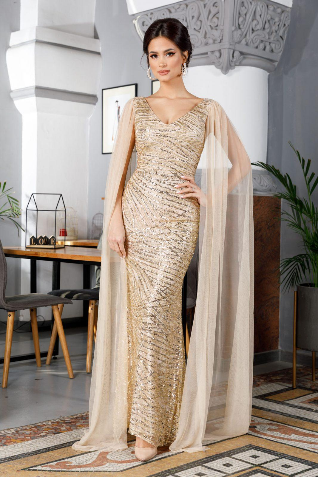 Giorgia Χρυσό Φόρεμα 4921