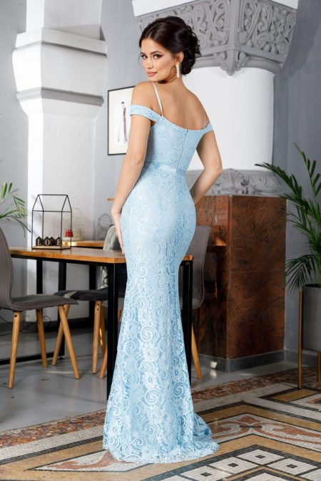 Clara Γαλάζιο Φόρεμα 2279