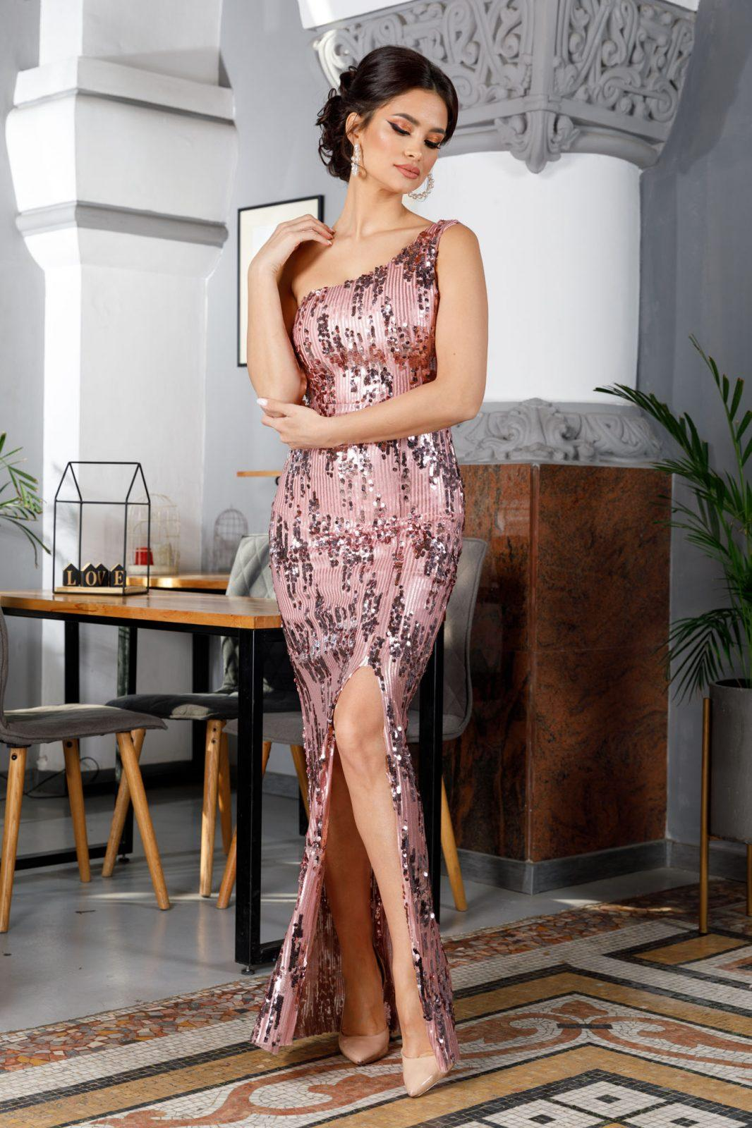 Tiarra Ροζ Φόρεμα 4925