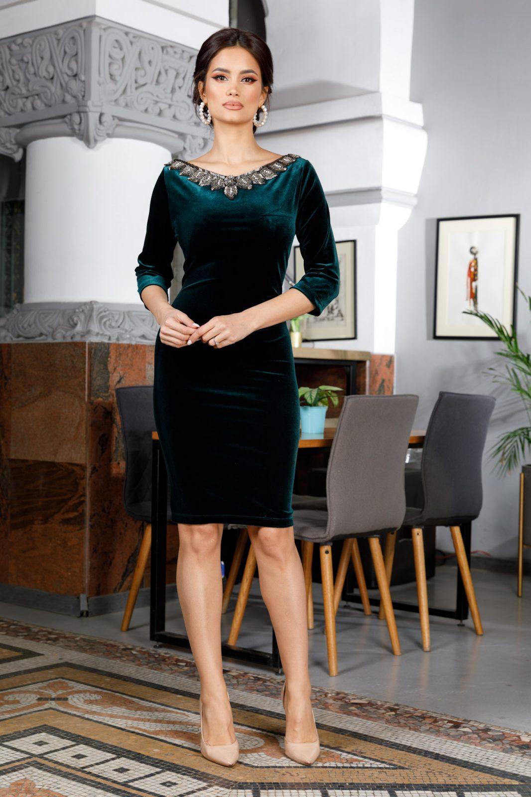 Enigma Πράσινο Φόρεμα 5957