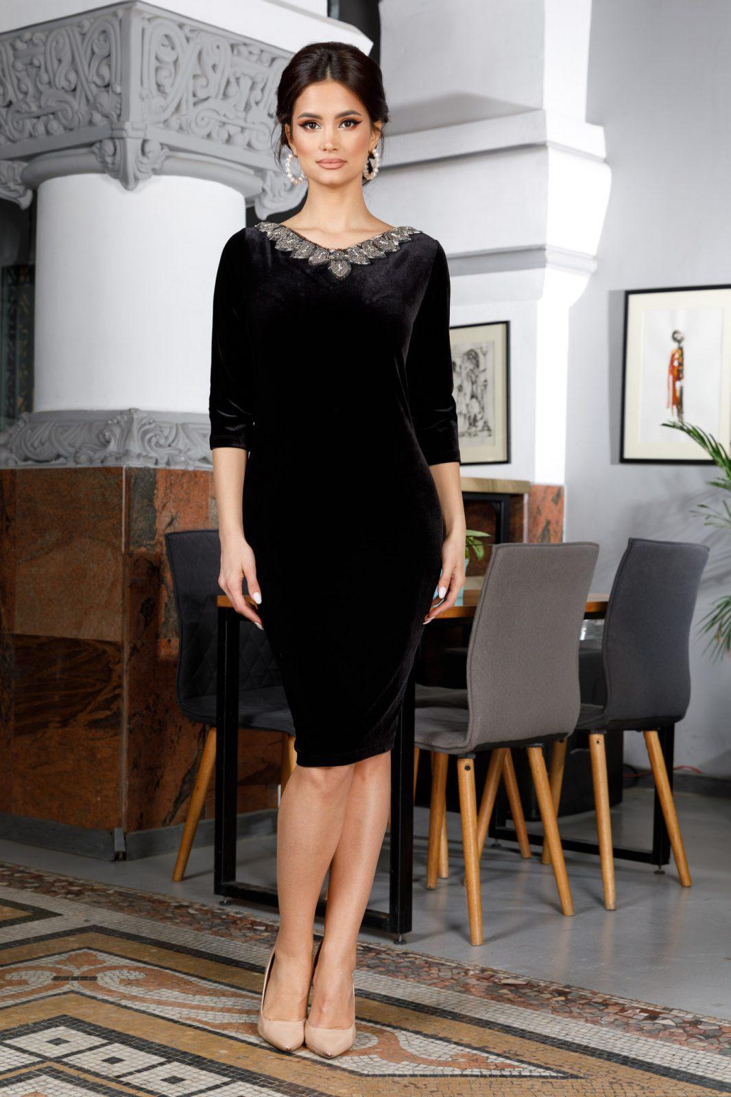Enigma Black Dress