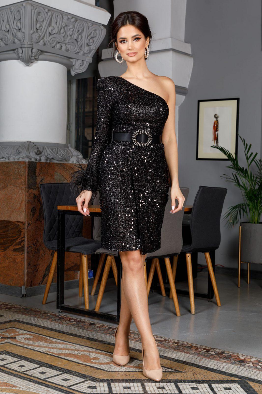 Karolyne Black Dress
