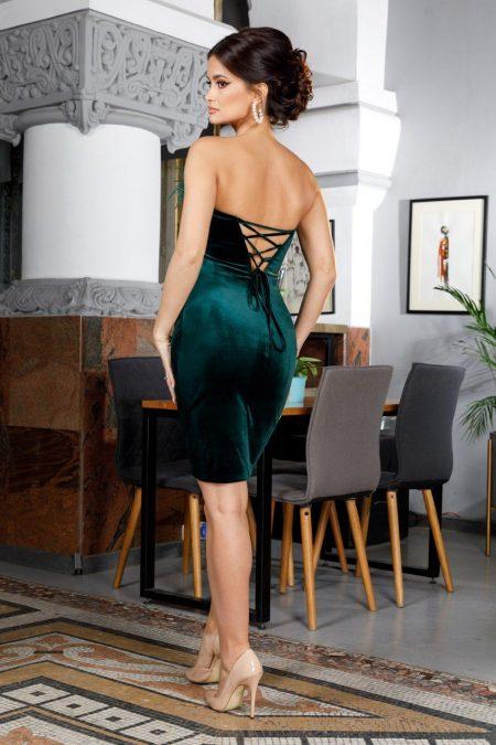 Adorable Midi Πράσινο Φόρεμα 5966